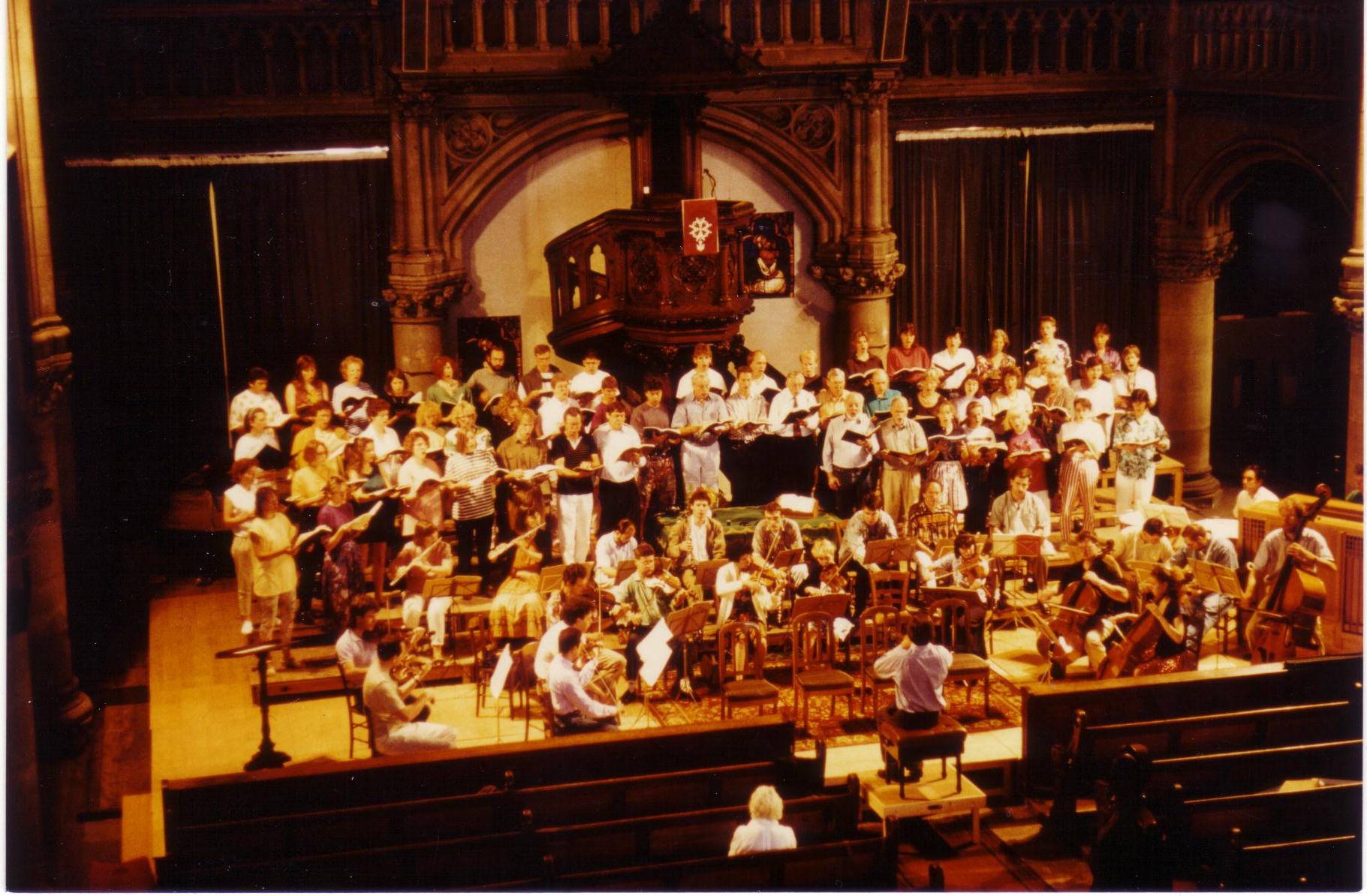 Mozarts C-Moll-Messe im Temple von Mulhouse
