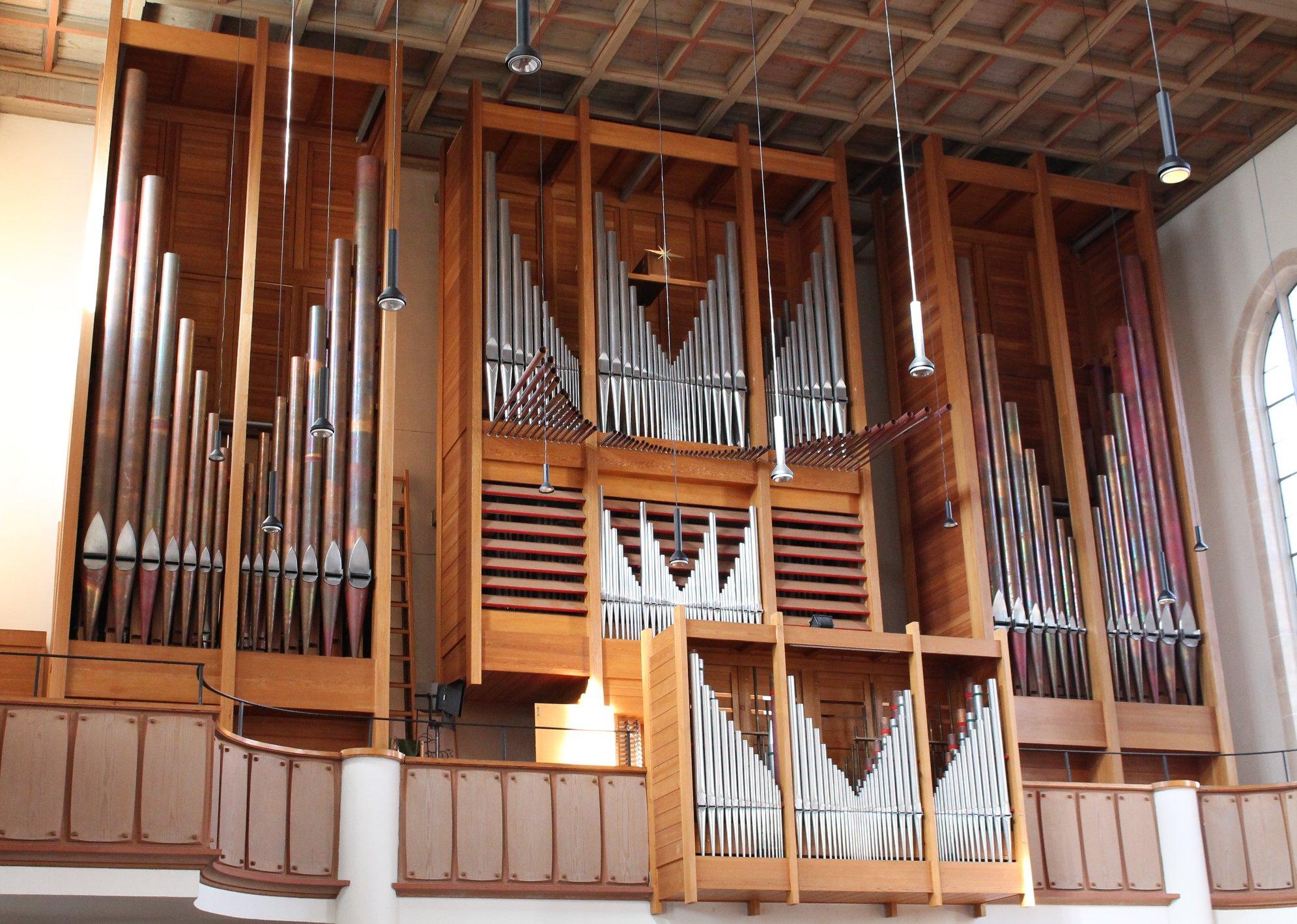 Die Rieger-Orgel der Christuskirche München
