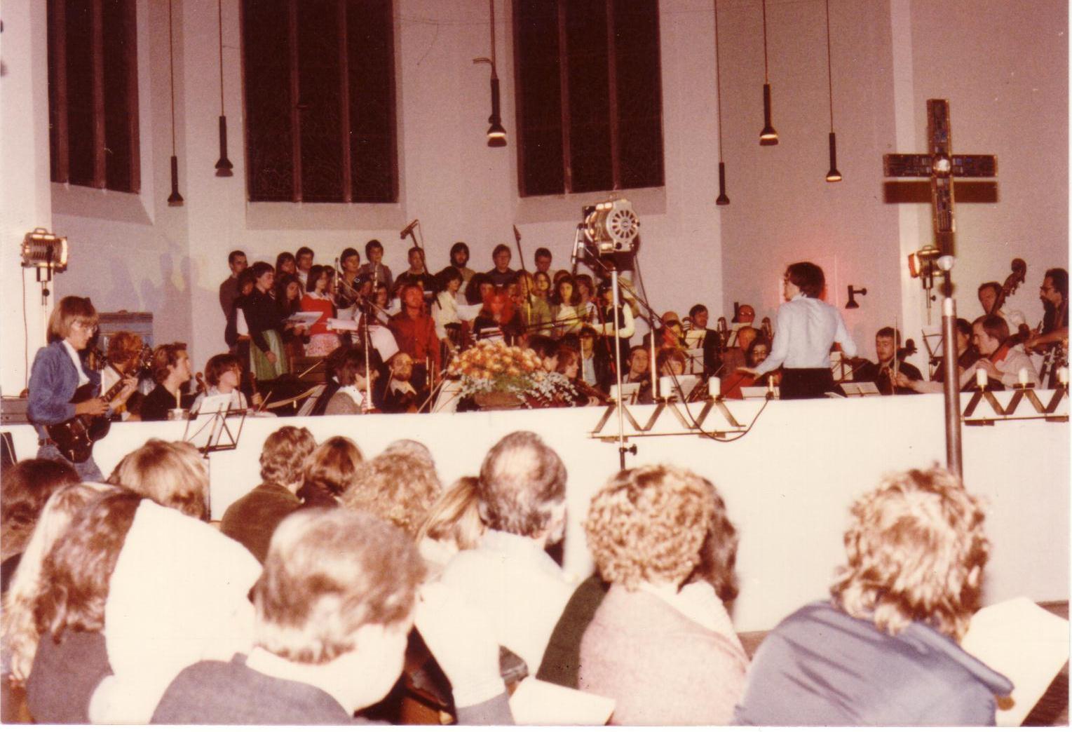 Uraufführung des Rock-Requiem 1978