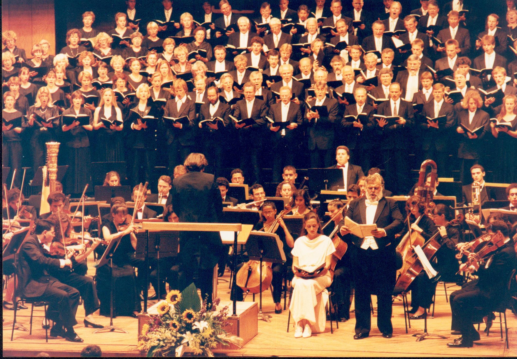 Brahms-Requiem im Mann-Auditorium