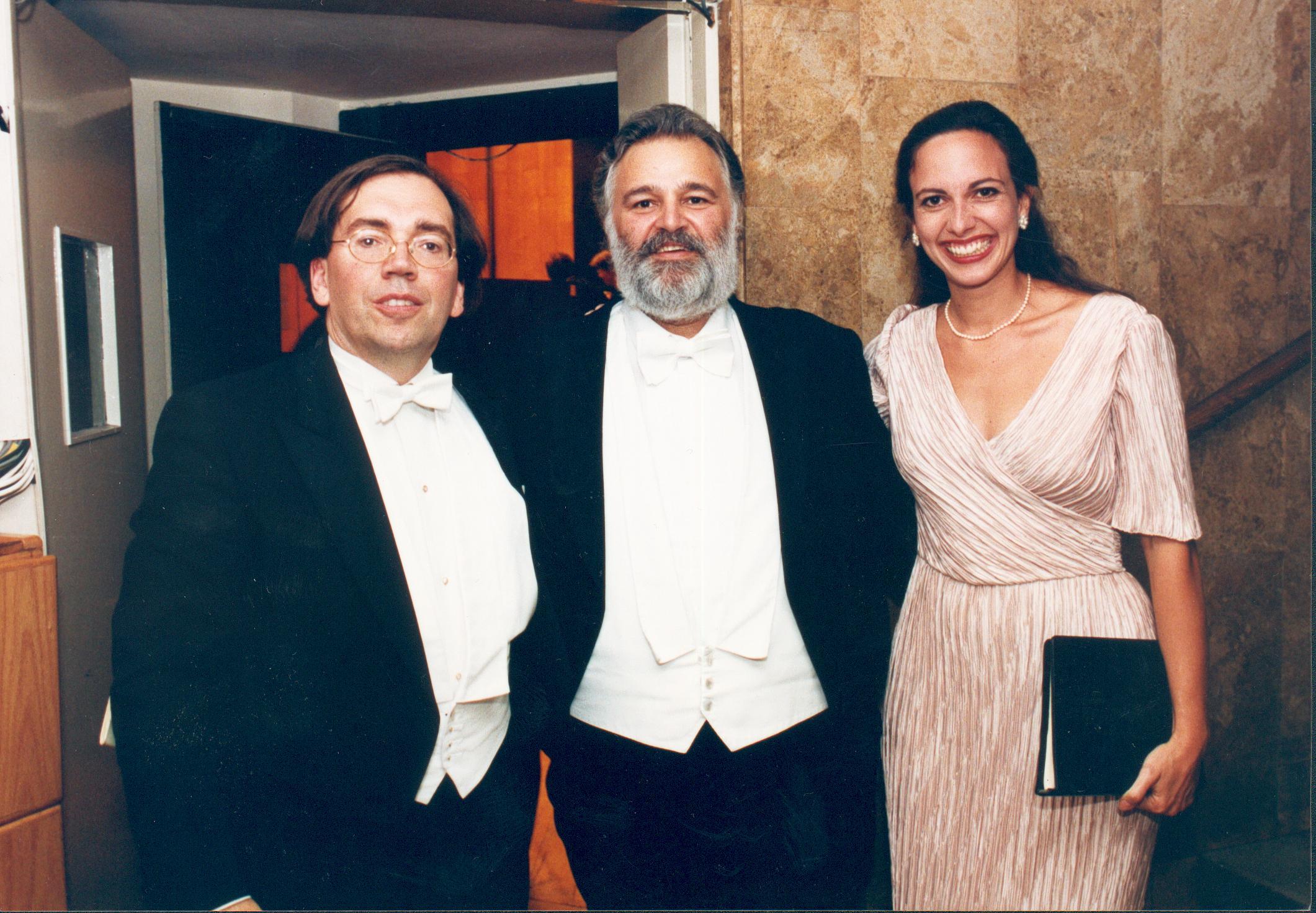 Mit Alexandra und Peter direkt nach dem Konzert