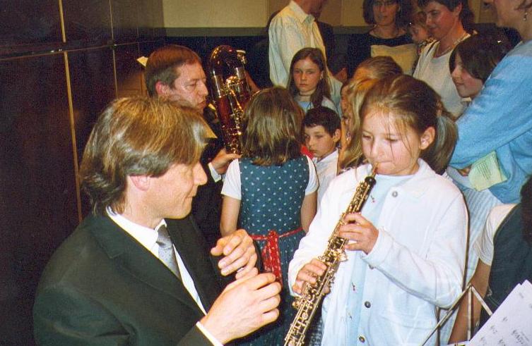 Die Holzbläser, hier speziell die Oboe.