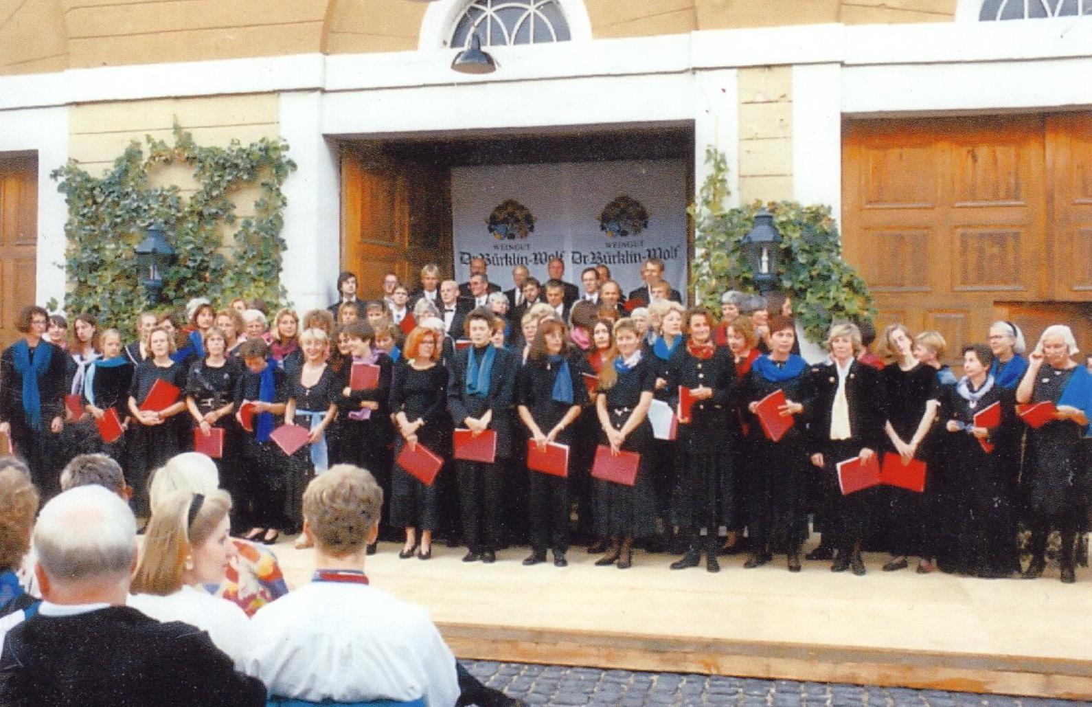Romantische Serenade mit dem Bachchor Heidelberg