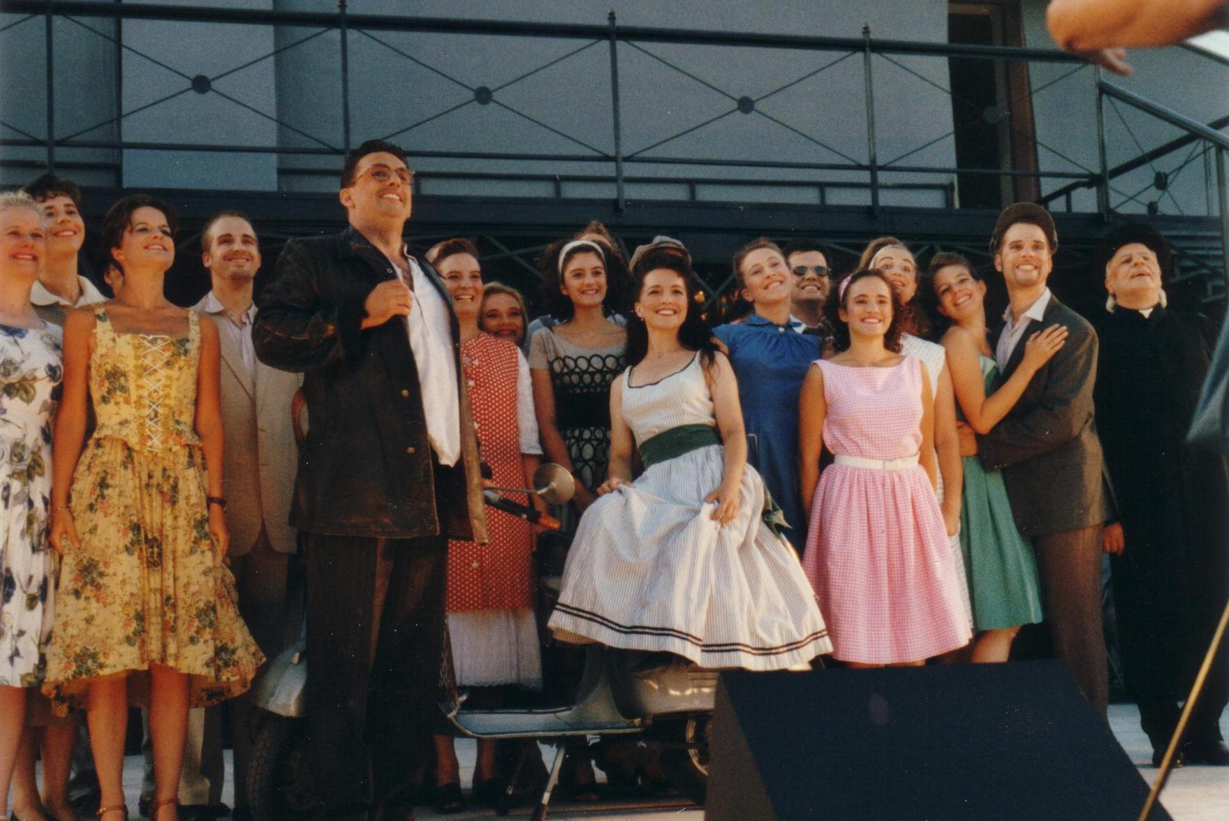 Der Chor im 50erjahre Stil