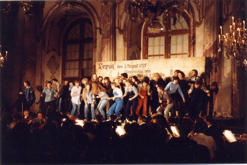 Bachkantaten szenisch im Kaisersaal