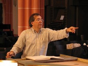 Probe zur Matthäus-Passion in Heidelberg