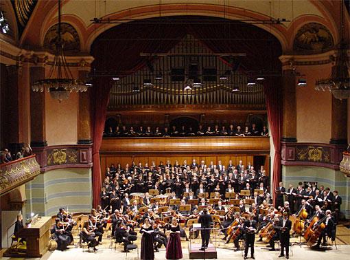 Verdi-Requiem, zusammen mit dem Frankfurter Cäcilienchor